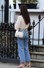 AMY JACKSON Out and About in Chelsea 03/30/2021