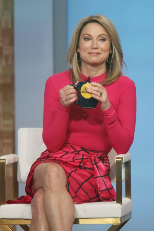 AMY ROBACH at Good Morning America in New York 03/25/2021