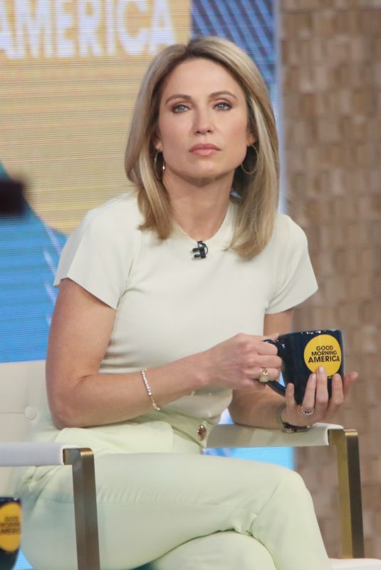 AMY ROBACH at Good Morning America in New York 03/26/2021