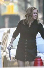 AMY SCHUMER Out and About in New York 03/30/2021