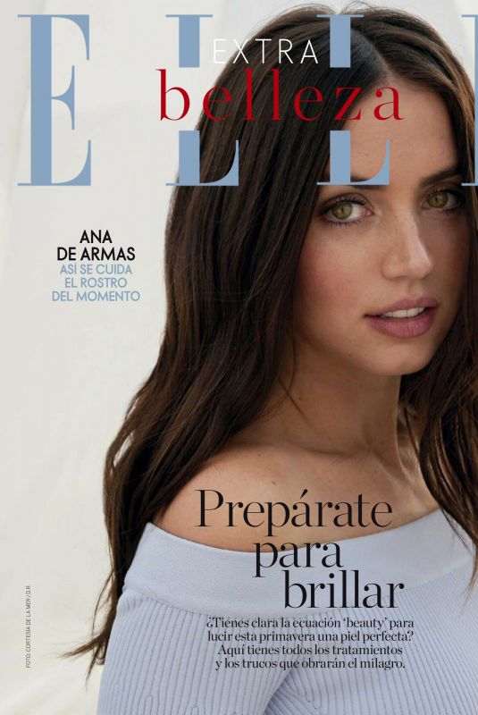 ANA DE ARMAS in Elle Magazine, Spain April 2021