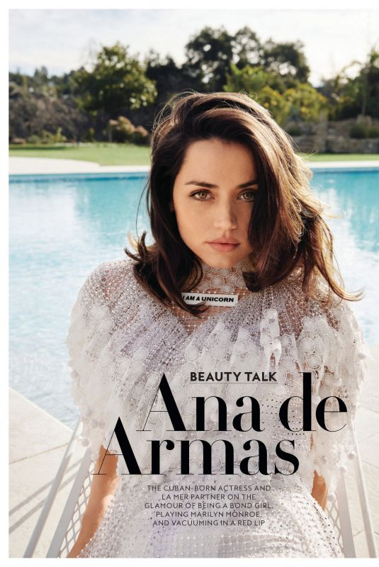 ANA DE ARMAS in Instyle Magazine, April 2021