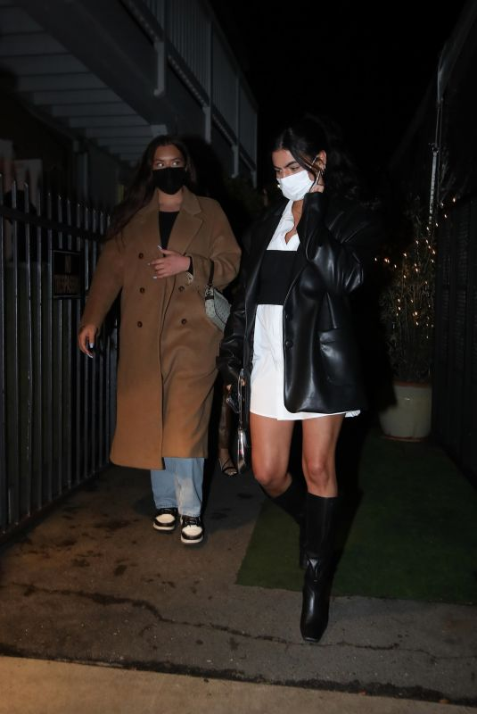 ANASTASIA KARANIKOLAOU and SOFIA VILLARROEL at Giorgio Baldi in Santa Monica 03/03/2021
