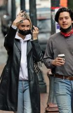ARI FOURNIER and Cole Sprouse Out in Vancouver 03/07/2021