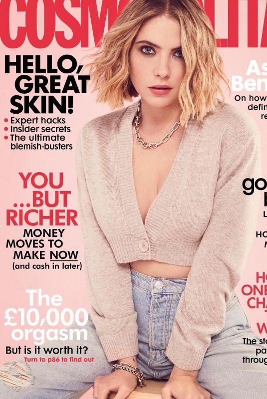 ASHLEY BENSON on the Cover of Cosmopolitan Magazine, UK April 2021