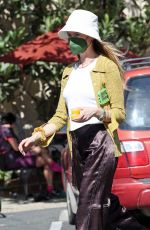 BEHATI PRINSLOO and Adam Levine Out in Montecito 03/21/2021