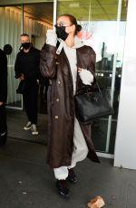 BELLA and GIGI HADID and IRINA SHAYK Arrives in Milan 02/28/2021