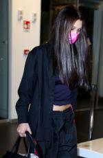 BELLA HADID at Airport in Milan 03/01/2021