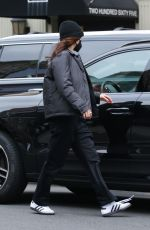 BELLA HADID Out and About in New York 03/17/2021