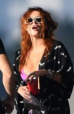 BELLA THORNE in Bikini at a Boat in Miami Beach 03/11/2021