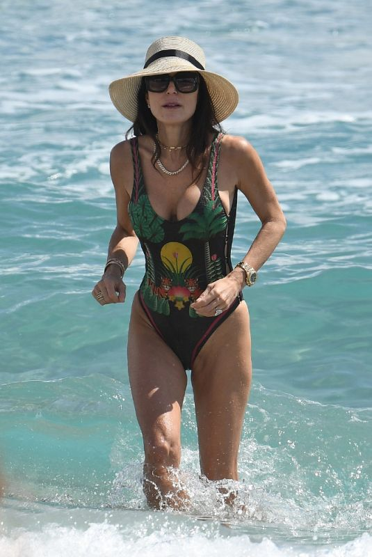 BETHENNY FRANKEL in Swimsuit at a Beach in Miami 03/20/2021