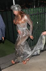 BEYONCE at Grammy Afterparty at Giorgio E Baldi in Beverly Hills 03/14/2021