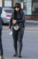 BLAC CHYNA Out and About in Los Angeles 03/24/2021