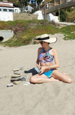 BLANCA BLANCO in Bikini on the Beach in Malibu 03/06/2021