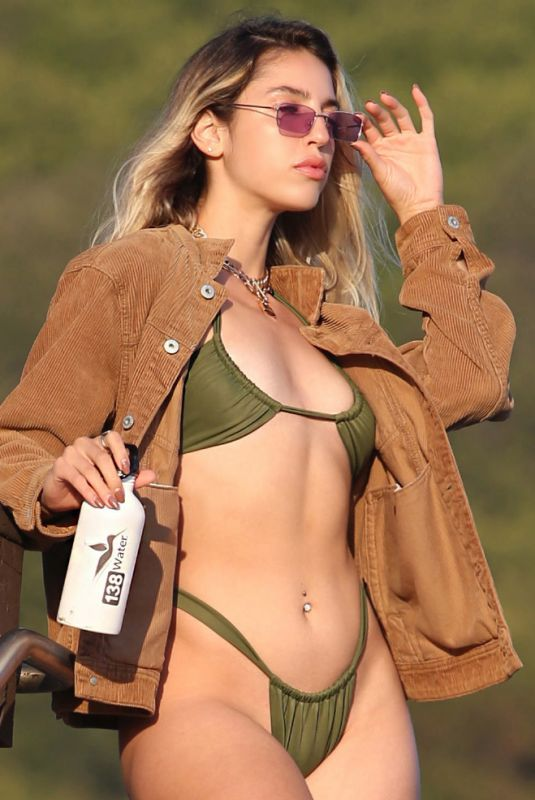 BRIDGETTE AUDREY in Bikini for 138 Water in Malibu 03/01/2021
