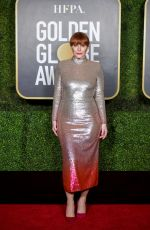 BRYCE DALLAS HOWARD at 2021 Golden Globe Awards in Beverly Hills 02/28/2021