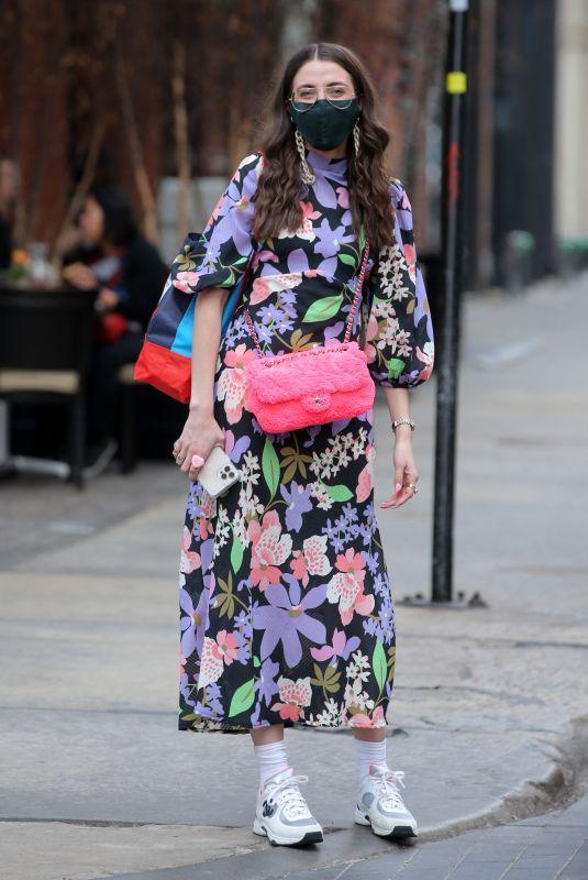 CAROLINE VAZZANA Out in New York 03/11/2021