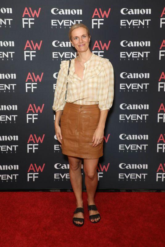 CATHERINE MACK at 2021 Australian Woman's Film Festival Launch 01/14/2021