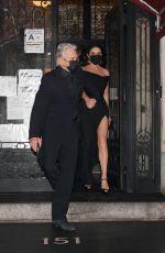 CATHERINE ZETA JONES and Michael Douglas Leaves Their Apartment in New York 02/28/2021