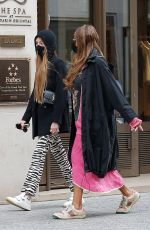 CATHY GUETTA Arrives at Her Hotel in Paris 03/03/2021