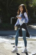 CHANTEL JEFFIRES Leaves Her Personal Trainers Gym in Los Angeles 03/02/2021