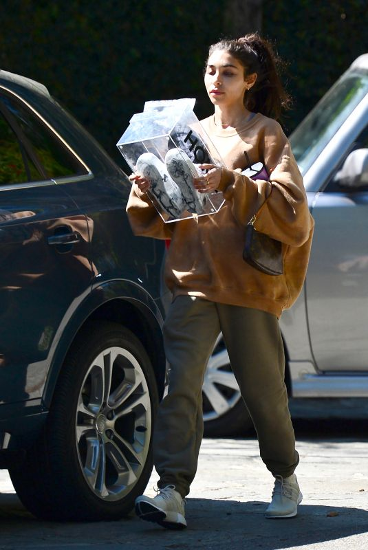 CHANTEL JEFFRIES Leaves a Gym in Los Angeles 03/04/2021