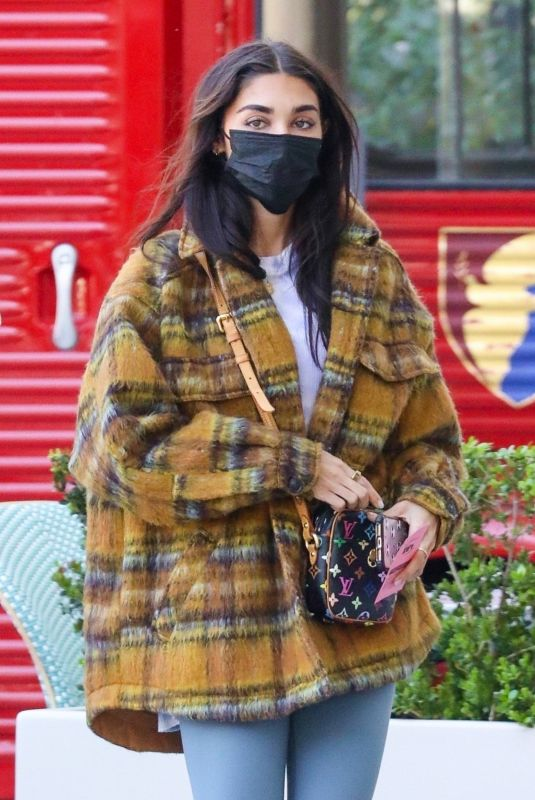 CHANTEL JEFFRIES Out and About in Los Angeles 03/02/2021