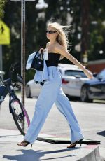 CHARLOTTE MCKINNEY Out and About in Los Angeles 03/15/2021