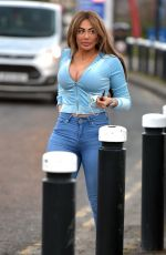 CHLOE FERRY at Her New Shop in Newcastle 03/02/2021