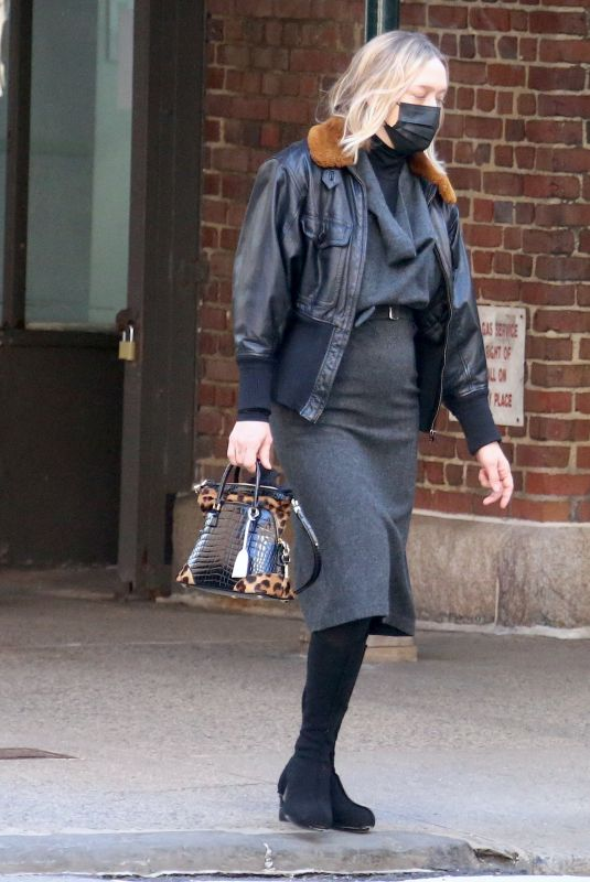 CHLOE SEVIGNY Out in New York 03/08/2021