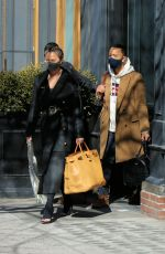 CHRISSY TEIGEN Out SHopping in New York 03/07/2021
