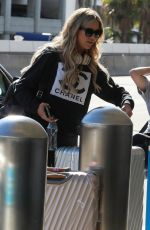 CHRISTINA ANSTEAD Out in Los Angeles 03/11/2021