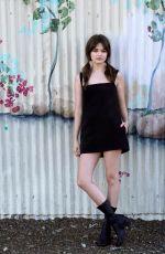 CIARA BRAVO at a Photoshoot in Los Angeles 02/18/2021