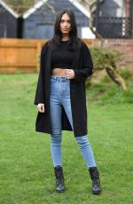 CLELIA THEODOROU on the Set of The Only Way is Essex 03/23/2021