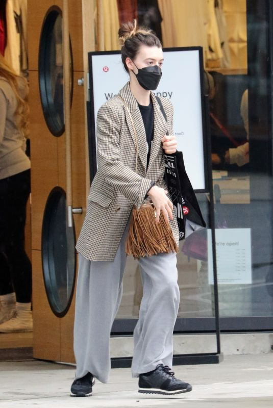 DAISY EDGAR JONES Out Shopping in Vancouver 03/14/2021