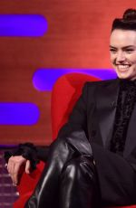 DAISY RIDLEY at Graham Norton Show 03/05/2021