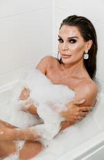 DANIELLE LLOYD in a Bathtub Photoshoot, March 2021