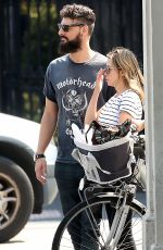 DANNII MINOGUE and Adrian Newman Out in Melbourne 03/22/2021
