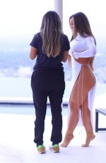 DAPHNE JOY at a Photoshoot in Los Angeles 03/09/2021
