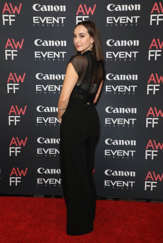 DARCIE IRWIN-SIMPSON at 2021 Australian Woman's Film Festival Launch01/14/2021