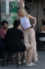 DELILAH HANLIN Out with Friends in Los Angeles 03/24/2021