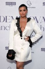 DEMI LOVATO at Premiere for Her New Youtube Originals Docuseries in Beverly Hills 03/22/2021