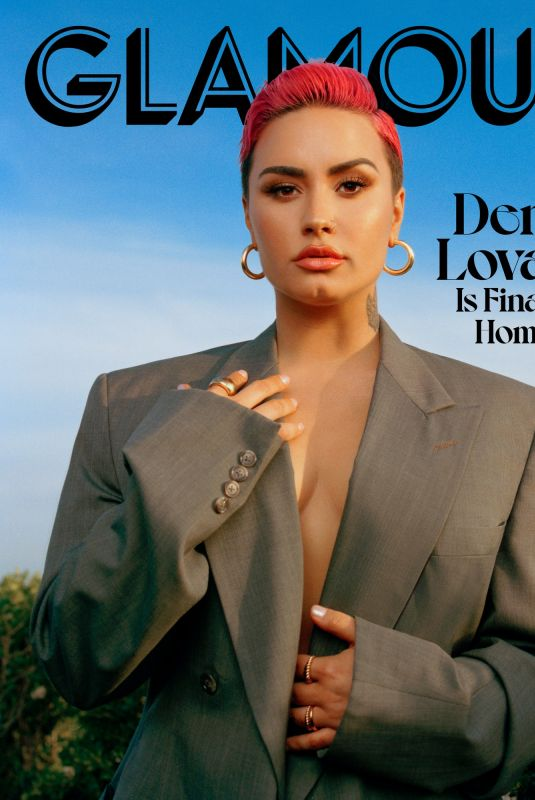 DEMI LOVATO for Glamour Magazine, March 2021