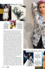DEMI LOVATO in People Magazine, April 2021