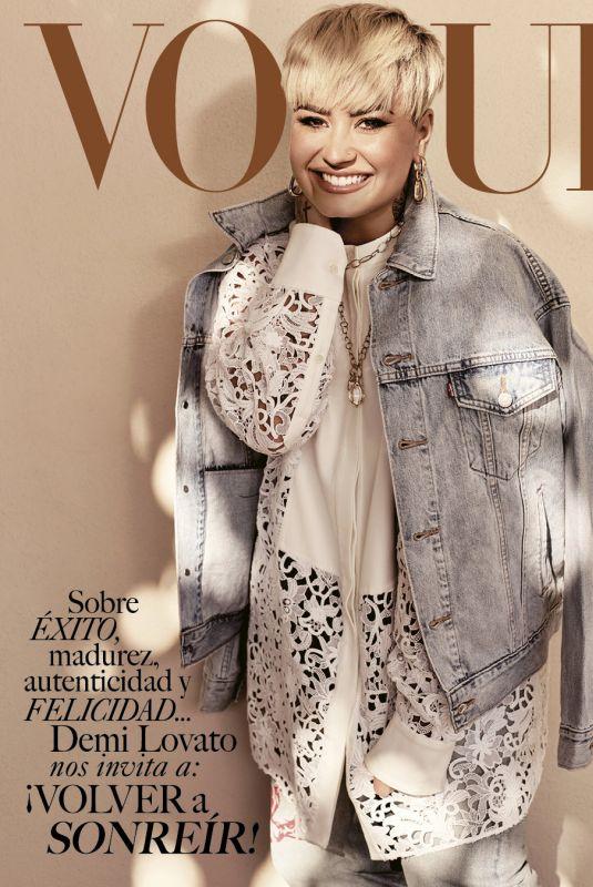 DEMI LOVATO in Vogue Magazine, Mexico April 2021