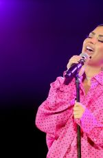DEMI LOVATO Performs at Premiere of Her New Youtube Docuseries in Beverly Hills 03/22/2021