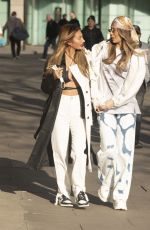 DEMI SIMS and FANCESCA FARAGO at PrettyLittleThing Photoshoot 03/30/2021