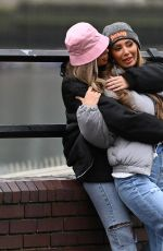 DEMI SIMS and FRANCESCA FARAGO Out in London 03/24/2021