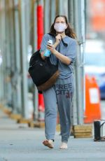 DREW BARRYMORE Out and About in New York 03/15/2021