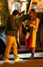 EIZA GONZALEZ at San Vicente Bungalows in West Hollywood 03/26/2021
